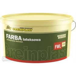Farba lateksowa wewnętrzna matowa FWL 10L