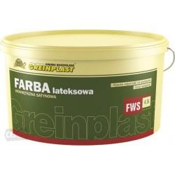 Farba lateksowa wew. satynowa FWS Grupa 1. 9L