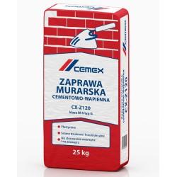 Zaprawa murarska cementowo - wapienna CX-Z120 25kg