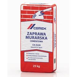 Zaprawa murarska cementowa CX-Z220 25kg