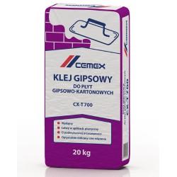 Klej gipsowy do płyt gipsowo-kartonowych CX-T700 20kg