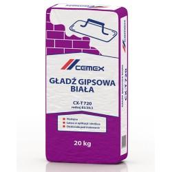 Gładź gipsowa biała CX-T720 20kg